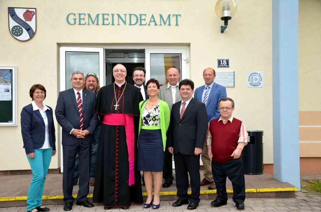Bischofsvisitation in Jabing