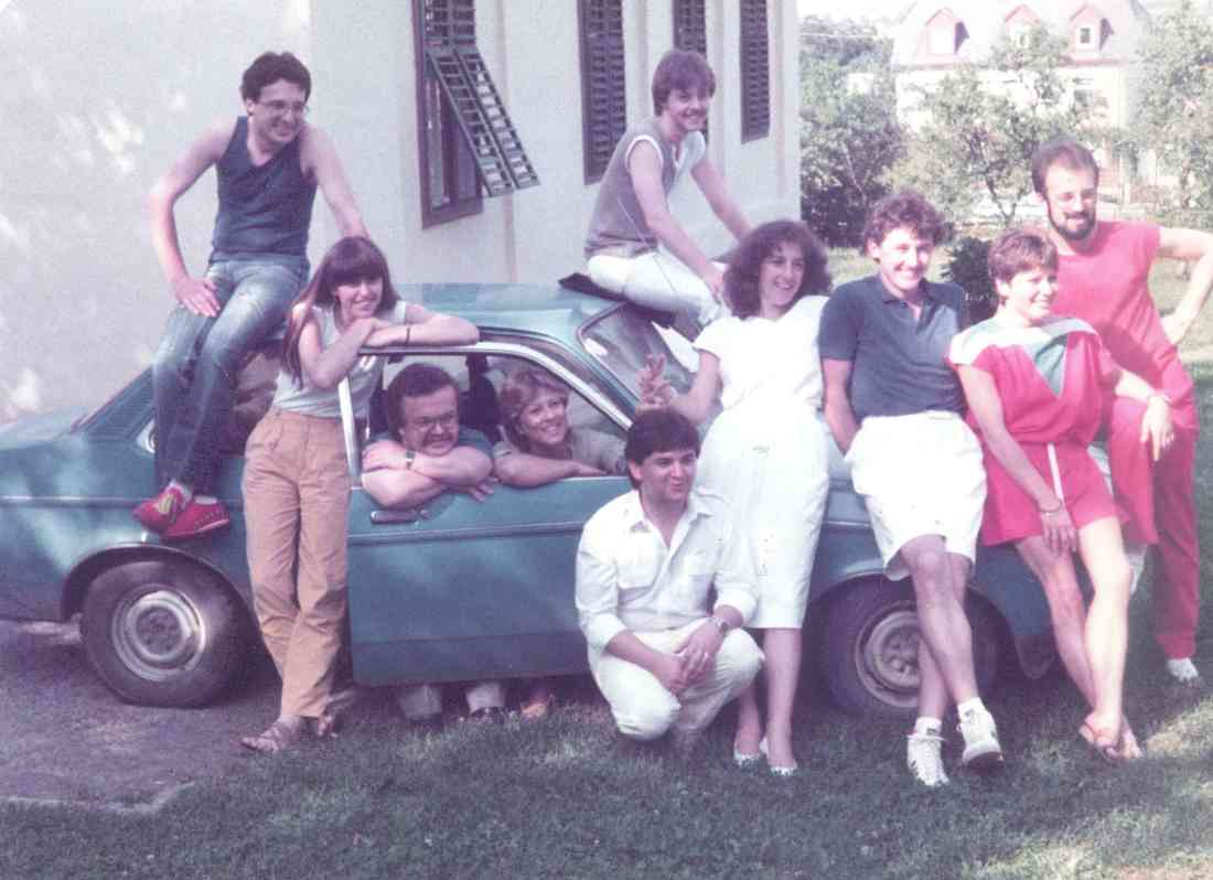 Theatergruppe Jabing - Ein fröhlicher, unbeschwerter Haufen (1984)